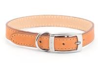 "Ancol Heritage Leather Collar Tan Size 5 20"" x 1"