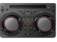 Pioneer DDJ-WeGO4-K (Black) | Compact DJ software controller for IOS and Android (black)