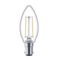 Philips 5W LED B22 Classic Candle Lamp