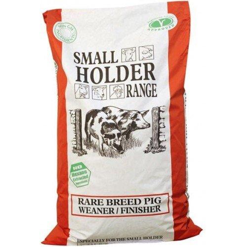Allen & Page Small Holder Range Rare Breed Weaner Finisher Pellets 20kg