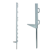 ELECTRIC FENCE POSTS PVC WHITE 105CM.