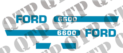 Decal Kit Ford 6600