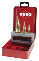 Ruko HSSE Co5 Cobalt  Step Drill 3 Piece