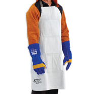 Leather Welders Apron - 900mmx600mm Grey