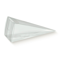 BOX PVC CONO 150mm CAKE SLICE