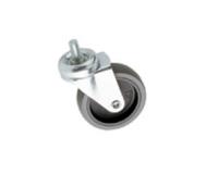 Euromet 02021 | Wheel, rubber, ø 75 mm non-lockable M10x15