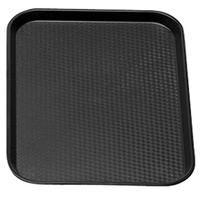 Fast Food Tray Black 460mm x 355mm
