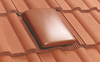15K TILE VENT - BROWN