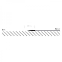 8753 BEVEL EDGE 3.2mm X 25m COIL