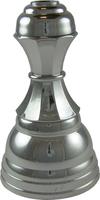 105mm Breda Plastic Riser (Silver)