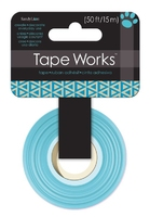 Tape Reverse Triangle Blue (Priced in singles, order in units of 4)