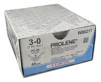 SUTURES PROLENE 5/0 PK 24 - 45cm - W8882T