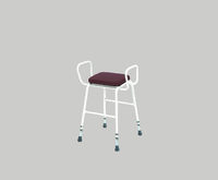 Perching Stool with Arms