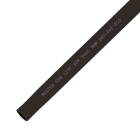 Heat Shrink | Black 5.0mm Diameter 200M Reel