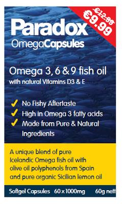 Paradox Omega Oil Capsules 60s PMP