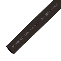 Heat Shrink | Black 12mm Diameter 100M Reel