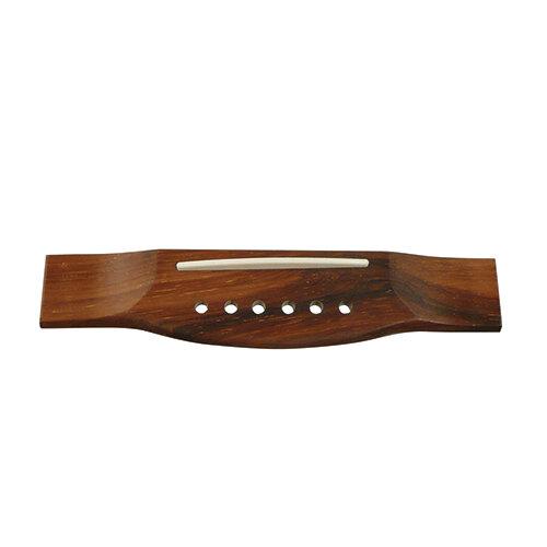 Acoustic guitar bridge rosewood