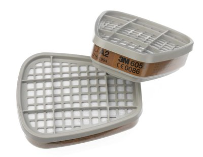 3M 6055 A2 Vapour Filter for 6000 Series Masks
