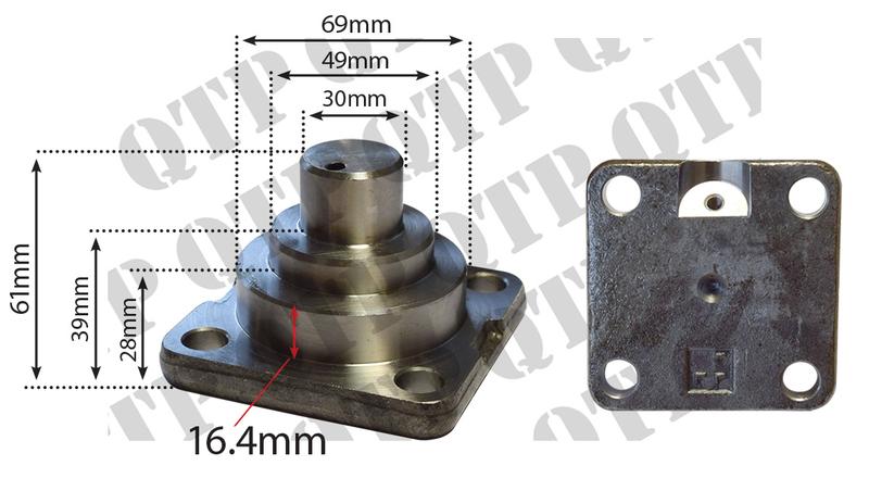 Axle Pivot Joint John Deere 6100 6100SE 6200 - Quality Tractor Parts