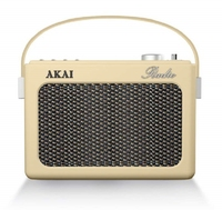 AKAI RETRO RADIO CREAM