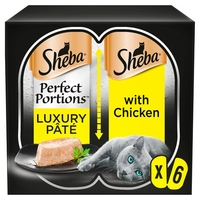 Sheba Foils Perfect Portions Chicken in Loaf 6pk x 8