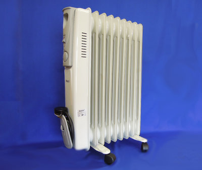 OR02 Oil Filled Radiator 2Kw 9 Fin