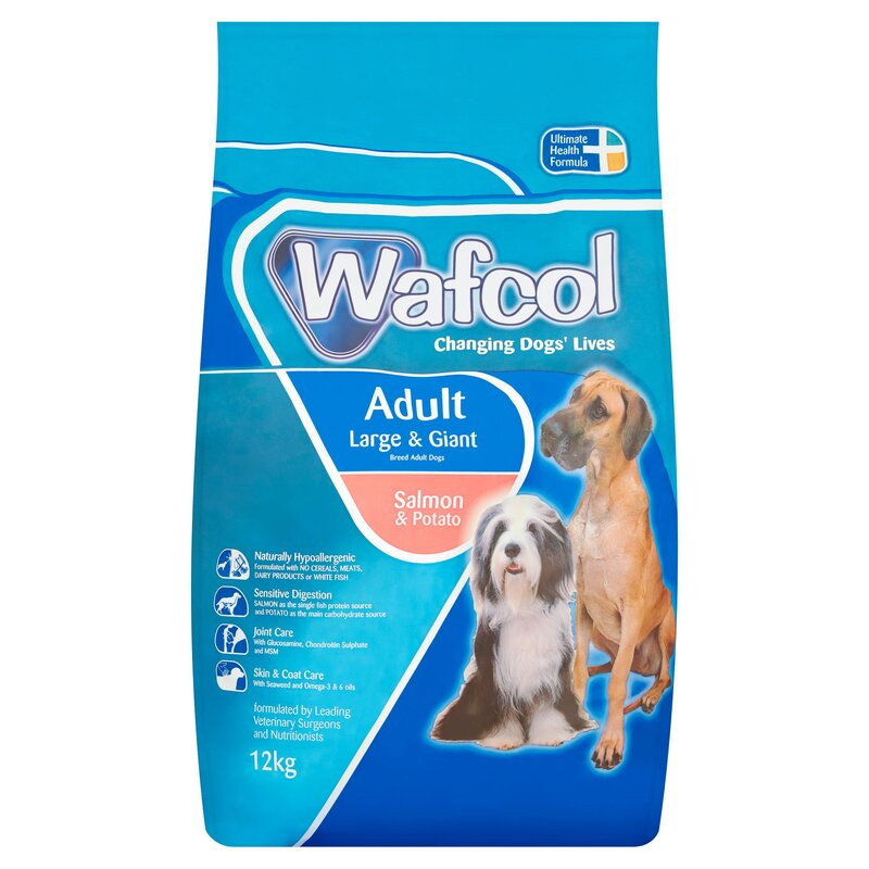 Wafcol Salmon & Potato Large-Giant Breed Dog Food 12kg