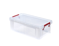 WHITEFURZE 5.8 LTR  ALLSTORE BOX SILVER CLAMP LID
