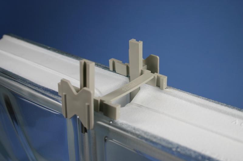 Glass Block Plastic Spacer 10mm - Goodwins