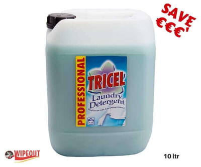 Tricel Laundry Detergent Green 10ltr special