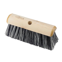 10.5 B/W Poly Yard Broom Head thr -  P2 (WT528)