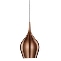 Vibrant Copper Bell Pendant Light 12cm