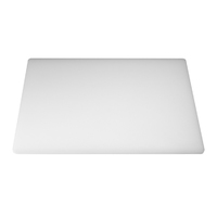 "Low Density Chopping Board 18""Lx12""Wx0.5""D White"