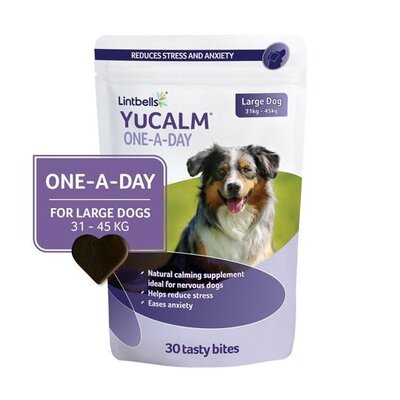 Lintbells YuCALM Chewies One-a-Day Large 30-Chew x 1