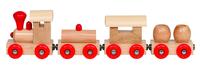 Wooden Trains Cities(P/Set Min 1(12 pcs/set)