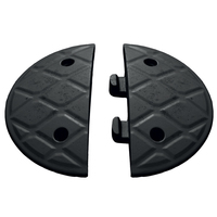Jumbo 7.5cm End Caps Black