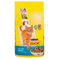 Go-Cat Adult Cat Tuna Herring & Veg 4kg