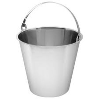 Stainless Steel Bucket   15Ltr