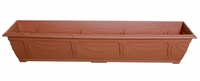 WHITEFURZE 90CM VENETIAN WINDOW BOX TERRACOTTA