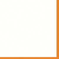"""Mountboard White On Orange 40"""" x 32"""" 1600mic"""