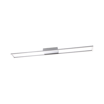 Paul Neuhaus Inigo Warm White 2 X 19W LED Stainless Steel Ceiling Light | LV2002.0010
