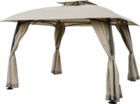 Luxury Beige Gazebo 3X3M
