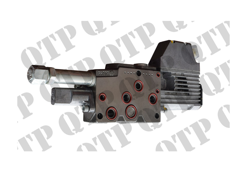 Hydraulic valve section