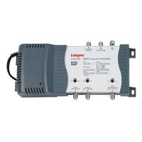 Labgear 3-Input Filtered MATV Launch Amplifier- 42dB Variable Gain