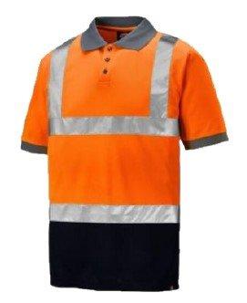 BOA Two Tone High Visiblity Polo Shirt