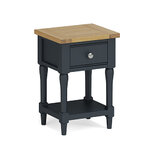 Sussex Navy Lamp Table