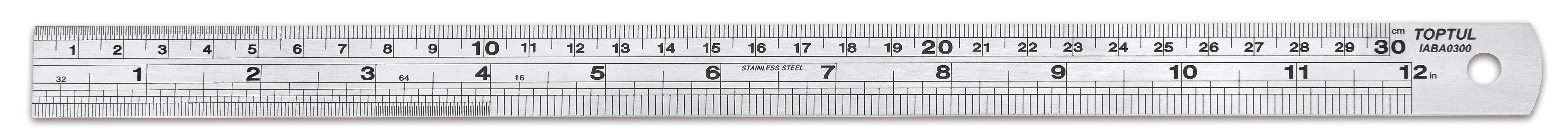 "QIABA1000 Stainless Steel Ruler 100cm (40"")"