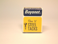 Bayonet Blued Tacks 13mm 50g - 10204