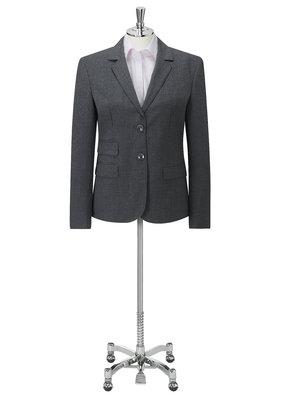 Charcoal Elle Ladies Two Button Jacket