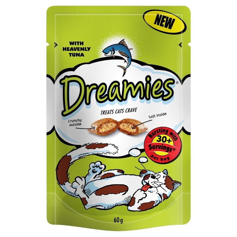 Dreamies Tuna Cat Treats 8 x 60g